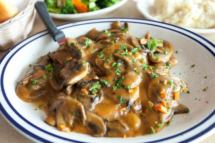 Healthier Creamy Chicken Marsala Recipe