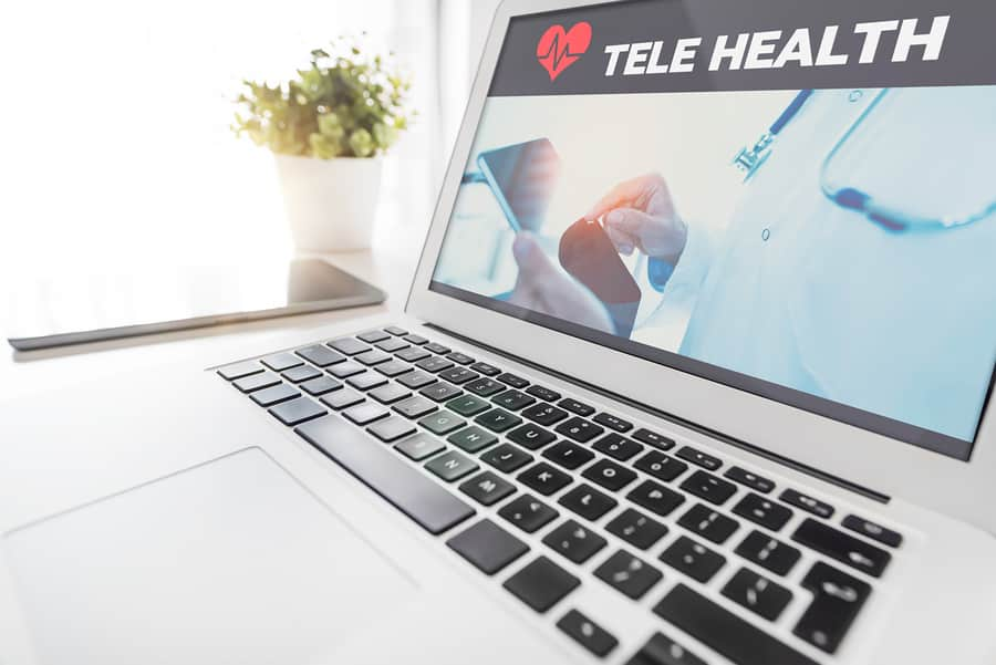 Telemedicine, Telehealth sign