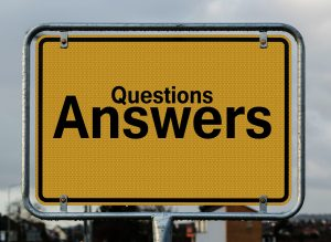 Online medicine can help you get answers to questions concept
