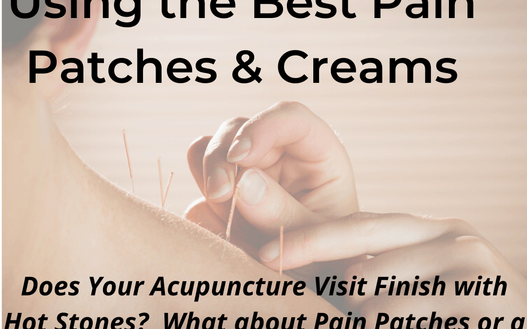 How Using Pain Patches & Creams Can Help